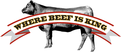 """Where Beef is King"""